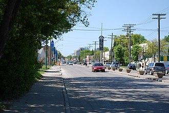 Winnipeg Route 52 - Image: Stmarysroadwpg