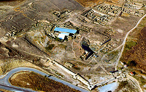 Stobi - Aerial view of main excavation area
