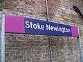 Stoke Newington stn signage.JPG
