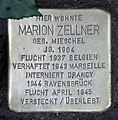 Stolperstein Bundesplatz 17 (Wilmd) Marion Zellner.jpg