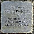 Stolperstein Emil Rosenstein (Taunsstraße 12 Butzbach).jpg