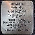 Stolperstein Kalkar Monrestraße 20 Martha Schürmann.jpg
