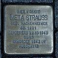 Stolperstein Karlsruhe Meta Strauss Kaiserstr 34a (fcm).jpg