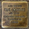 Stolperstein Ostender Str 2 (Wedd) Emil Schwarz.jpg