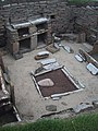 Stone Furniture in a House at Skara Brae - geograph.org.uk - 931846.jpg