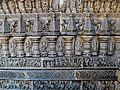 Stone art, Chennakesava Temple, Somanathapura.jpg