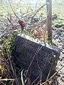 Stone footpath sign near Kit's Coty.jpg