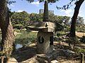 Stone lantern in Shukkei Garden.jpg