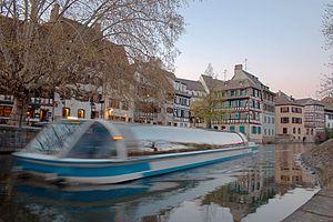 Strasbourg - Bateau mouche