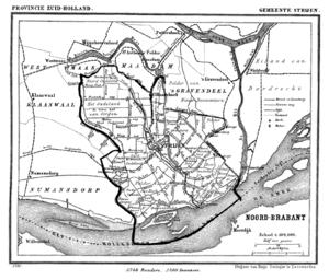 Strijen - Strijen in 1867