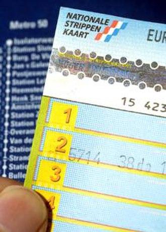 National tariff system (Netherlands) - Strippenkaart