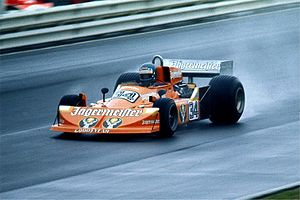1976 Formula One season - Hans-Joachim Stuck driving for the March team in the German Grand Prix