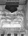 stucplafond in vestibule -