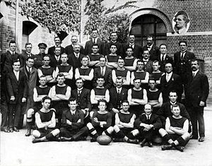 Sturt Football Club - The 1919 premiership team.