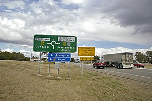 Olympic Highway - Image: Sturt and Olympic Highway Intersection