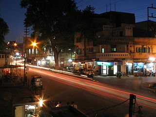 Subhash Marg in Indore, India.JPG