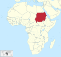 Sudan in Africa (claimed).svg