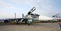 Sukhoi Su-30SM at the MAKS-2013 (01).jpg