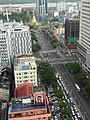 Sule Pagoda Road from Sakura Tower.jpg