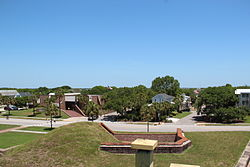 Sullivan's Island viewed from Fort Moultrie
