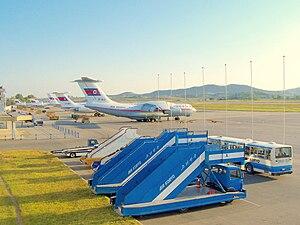 Air Koryo - Image: Sunan International Airport, Pyongyang, North Korea