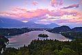 Sunset over Bled (30008244980).jpg
