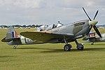 Supermarine Spitfire T.9 'PV202 5R-H' (G-CCCA) (30584545337).jpg