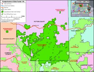 Susquehannock State Forest - Image: Susquehannock