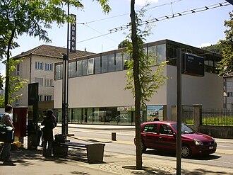 Swisstopo - Building in Wabern.