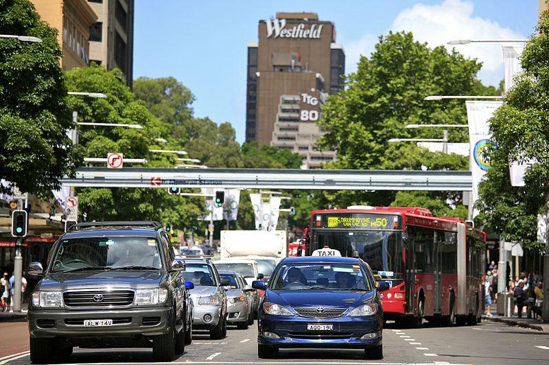 Preço do taxi do aeroporto para o centro de Sydney