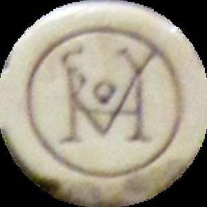 Quintus Aurelius Symmachus - The Symmachus family monogram.