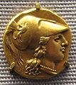 Syrakus, octobolo d'oro di agathokles, 304-289 ac. ca..JPG