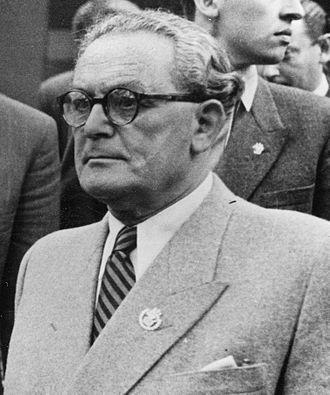 Árpád Szakasits - Image: Szakasits Árpád 1949