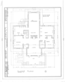 T. S. Eastabrook House, 200 North Scoville Street, Oak Park, Cook County, IL HABS ILL,16-OAKPA,2- (sheet 2 of 4).png