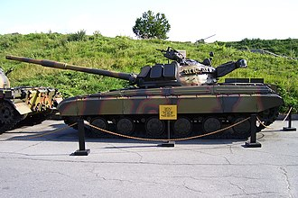 T-64 - Obyekt 447 at the Museum of the Great Patriotic War, Kiev, Ukraine