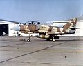 TA-4J of VA-127 with MiG silhouette at NAS Miramar.jpeg