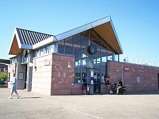 railway station in Molsheim, France