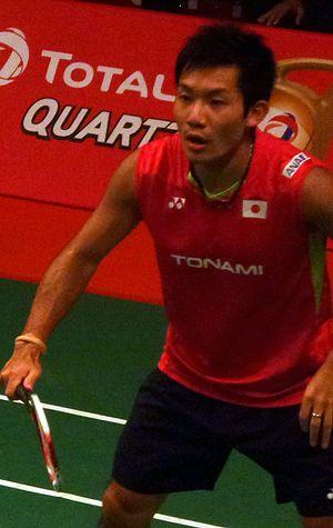 Keigo Sonoda - Image: TOTAL BWF World Champs 2015 Day 2 Keigo Sonoda