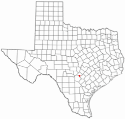 Location of Garden Ridge, Texas