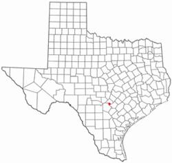 Location Of Garden Ridge, Texas