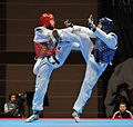 Taekwondo competition in Baku.jpg