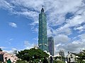 Taipei 101 during 2018 Taiwanese local elections.jpg