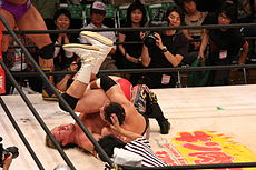 Pin (professional wrestling) - Wikipedia, the free encyclopedia