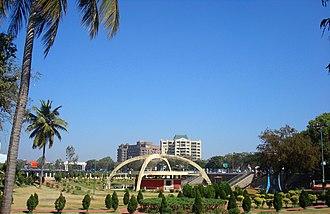 Tank Bund Road, Hyderabad - Gardens at Tank Bund