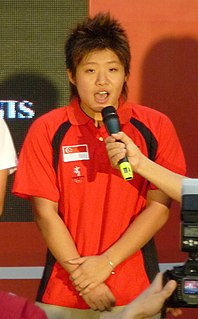 Tao Li Singaporean Olympic competitive swimmer