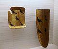 Tarja i pavés de Lluís Cornell, procedents de la cartoixa de Valldecrist, finals del segle XIV, Museu de Belles Arts de Castelló.JPG