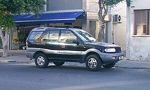 Tata Safari - Image: Tata Safari in Cyprus
