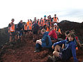 Tauranga YSAR on top of Mount Ngauruhoe.jpg