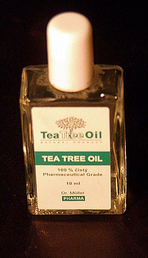 English: little bottle of Tea Tree Oil Česky: ...