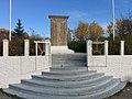 Telavaag - Minnestein monument 1940-1945 døde i fangenskap (WWII memorial) 2017-10-23 b.jpg